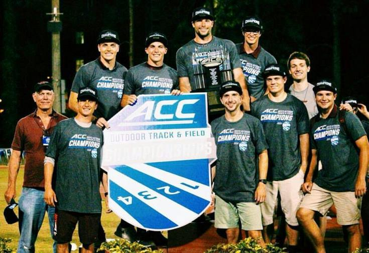 Men Take Top Seven Places at ACC Championships