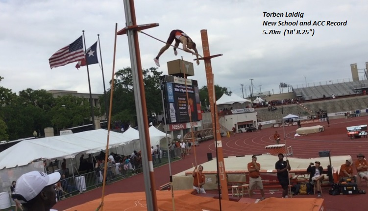 Torben Sets School and ACC Record
